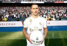 Eden Hazard unveiled at Real Madrid
