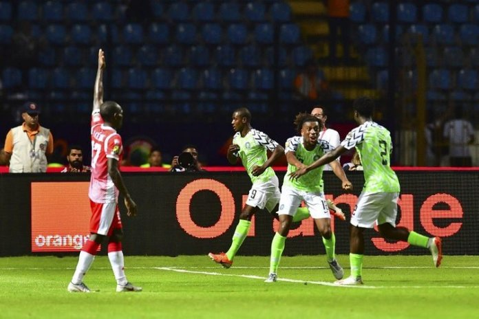 Nigeria will play South Africa in the quarter-final of AFCON 2019