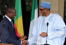 President Buhari and his Benin Republic contemporary, President Talon