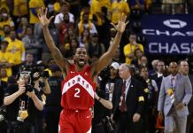 Toronto Raptors have won the NBA finals for the first time in their franchise
