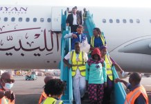 320 Nigerians are expected to land in Lagos on Wednesday from South Africa