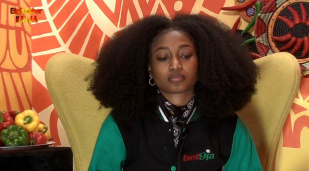 Esther, a housemate in BB Naija Pepper Dem