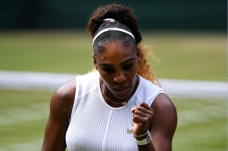 Serena Williams has made it to het 11th Wimbledon final becoming the oldest woman to make a Grand Slam final