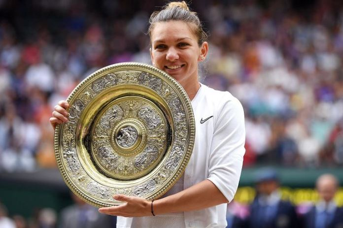 Simona Halep beat Serena Williams in the Wimbledon final
