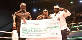 Taiwo Esepo won the N1 million grand prize at GOtv Boxing Night 19