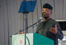 Vice President Yemi Osinbajo has announced an 80% slash for products with NAFDAC