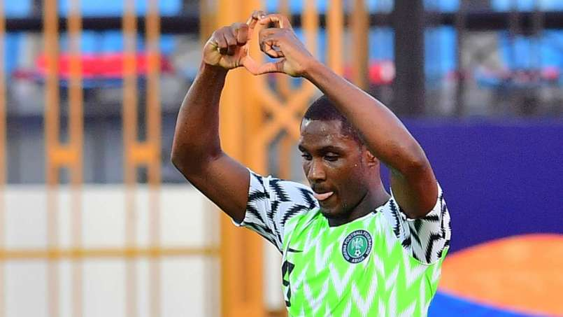 Odion Ighalo scored a brace to down Cameroon