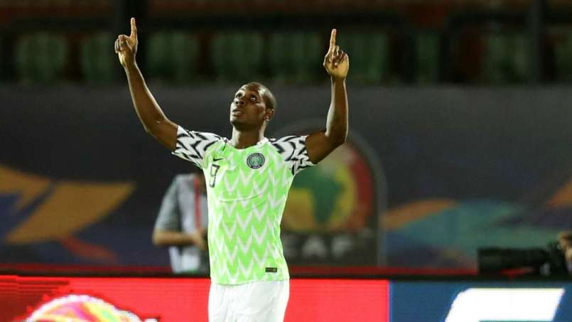 Ighalo lone strike was enough to hand Super Eagles the victory