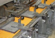 A pencil production plant in Nigeria