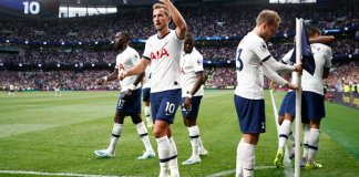 Harry Kane scored his first goals at Tottenham Hotspur Stadium