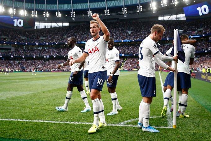 Harry Kane scored his first goals at Tottenham Hotspur Stadium