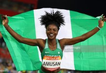 Tobi Amusan has set a new African record in the 100 metre hurdles