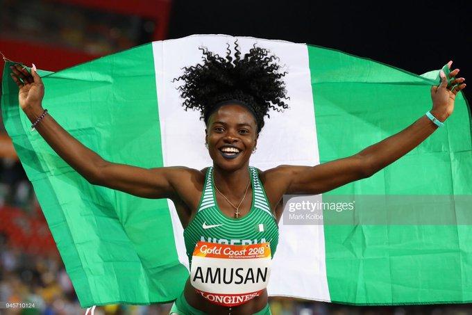 Tobi Amusan has set a new African record in the 100 metre hurdles