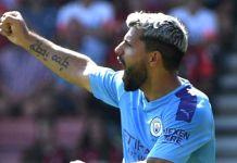 Sergio Aguero on the double as Man city beat Bournemouth