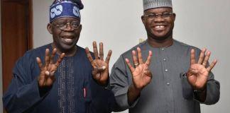 Asiwaju Bola Tinubu and Governor Yahaya Bello