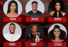 Esther and Sir Dee have been evicted from BBNaija Pepper Dem house