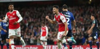 Gabriel Martinelli scored twice as Arsenal thrashed Nottingham Forest in the Carabao Cup