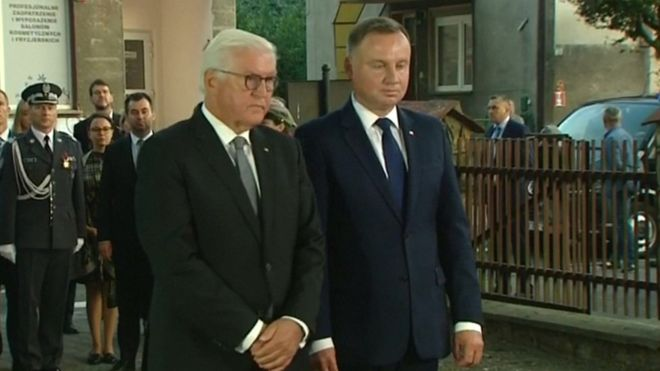 German President Frank Walter Steinmeier Poland World War