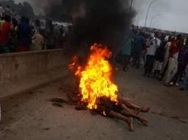 Mob burns one chance operators in Abuja