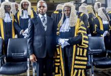 VP Osinbajo with Chief Justice of Nigeria, Justice, Ibrahim Tanko Muhammad, CFR.