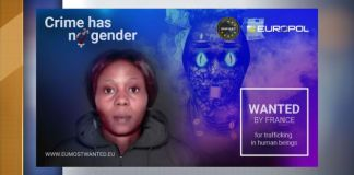 Jessica Edosomwan s among 18 most wanted in Europe