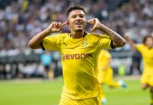Jadon Sancho has made five assists in the league for Borssia Dortmund