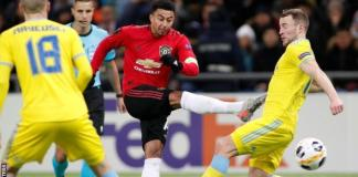 Jesse Lingard scored just his second goal of 2019 for Manchester United