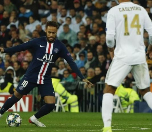 Neymar inspired PSG in a fascinating 2-2 draw against Real Madrid at the Bernebeu