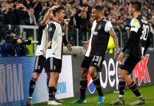 Paulo Dybala scored a superb free kick as Juventus progress