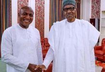 President Muhammadu Buhari has congratulated Bayelsa governor-elect, David Lyon