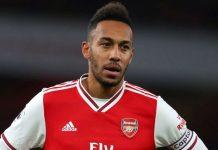 Aubameyang opened the scoring for Arsenal