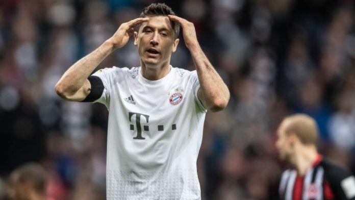 Bayern Munich striker Robert Lewandoski