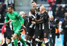 Newcastle's Jonjo Shelvey with late equalizer to hold champions