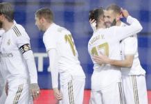 Karim Benzeama scored a brace as Real Madrid win at Eibar