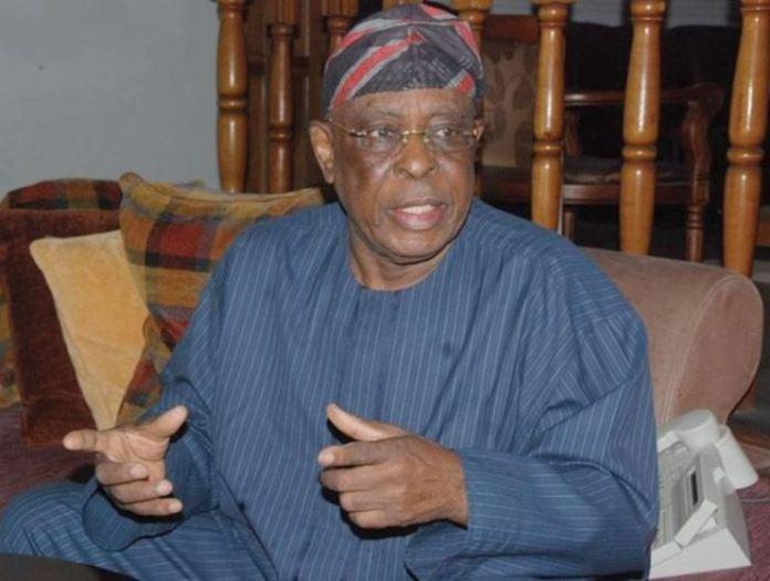 Aremo Segun Osoba, a chieftain of the All Progressives Congress
