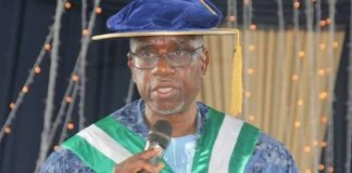Executive Secretary of the National Universities Commission, Prof Abubakar Rasheed