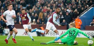 Jonathan Kodjia's last brace for Aston Villa came in the 2-2 draw against Brentford in the Championship in August 2018