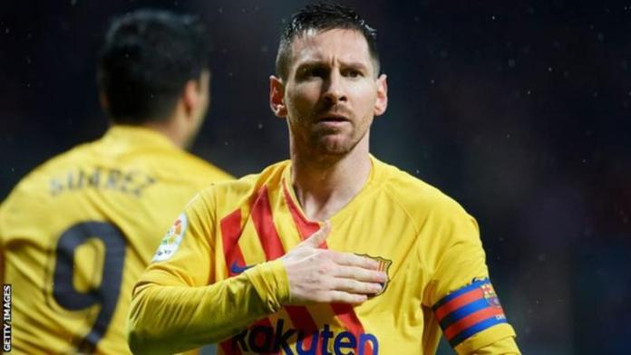 Lionel Messi says he wants to activate a clause that allows him leave for free