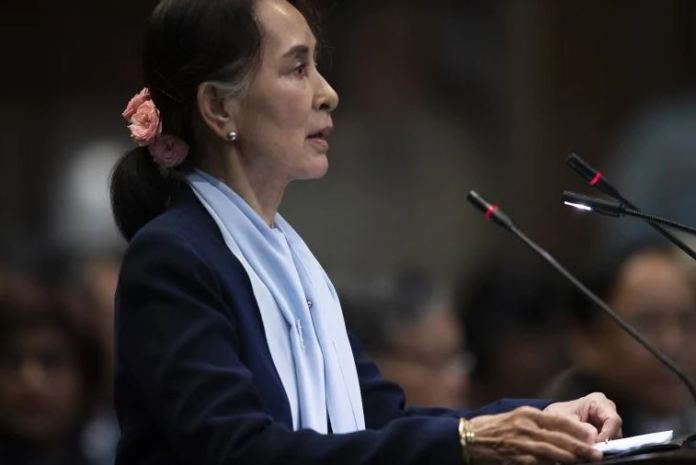 Suu Kyi has addressed the UN court on genocide