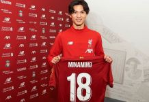 Takumi Minamino has signed a four-year deal with Liverpool
