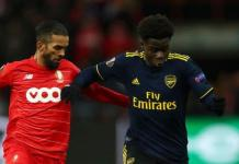 Bukayo Saka put in a strong performance for Arsenal on Thursday
