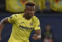 Nigeria and Villarreal striker Samuel Chukwueze