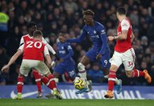 Chelsea failed to beat 10-man Arsenal despite dominating the game