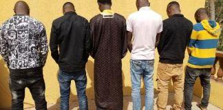EFCC has arrested wanted fraudster Sadiku Muniru Dolapo and five others Ilorin