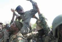 Lt. Col Abu Ali received recognition for his heroics against Boko Haram terrorists