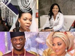 Nigerian celebrities who married older partners Peter Okoye, Kaffy, Dare Art Alade