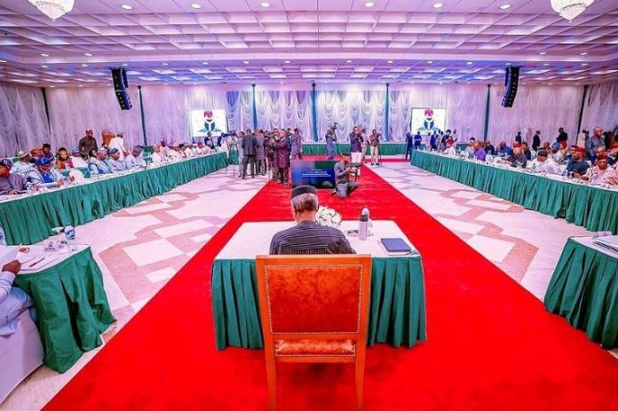 Vice President Yemi Osinbajo presiding over National Economic Council on Thursday, 23 January 2020
