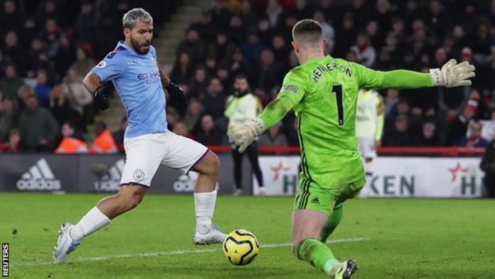 Sergio Aguero has now scored six goals in his last three Premier League games