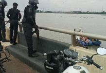 A 22-year old man identified as Daibo Davies jumped over the Third Mainland Bridge