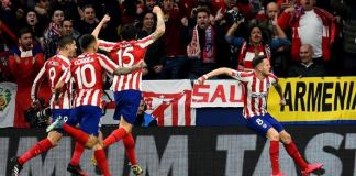 Atletico have never lost a match in which Saul Niguez has scored - played 37, won 33, drawn 4